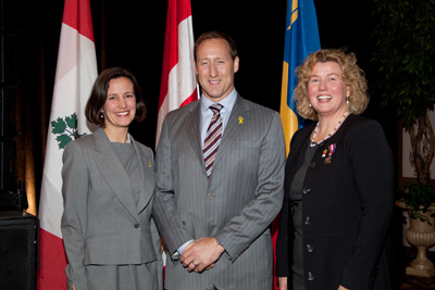 Dr. Stéphanie Bélanger,  The Honourable Peter MacKay, Dr. Alice Aiken