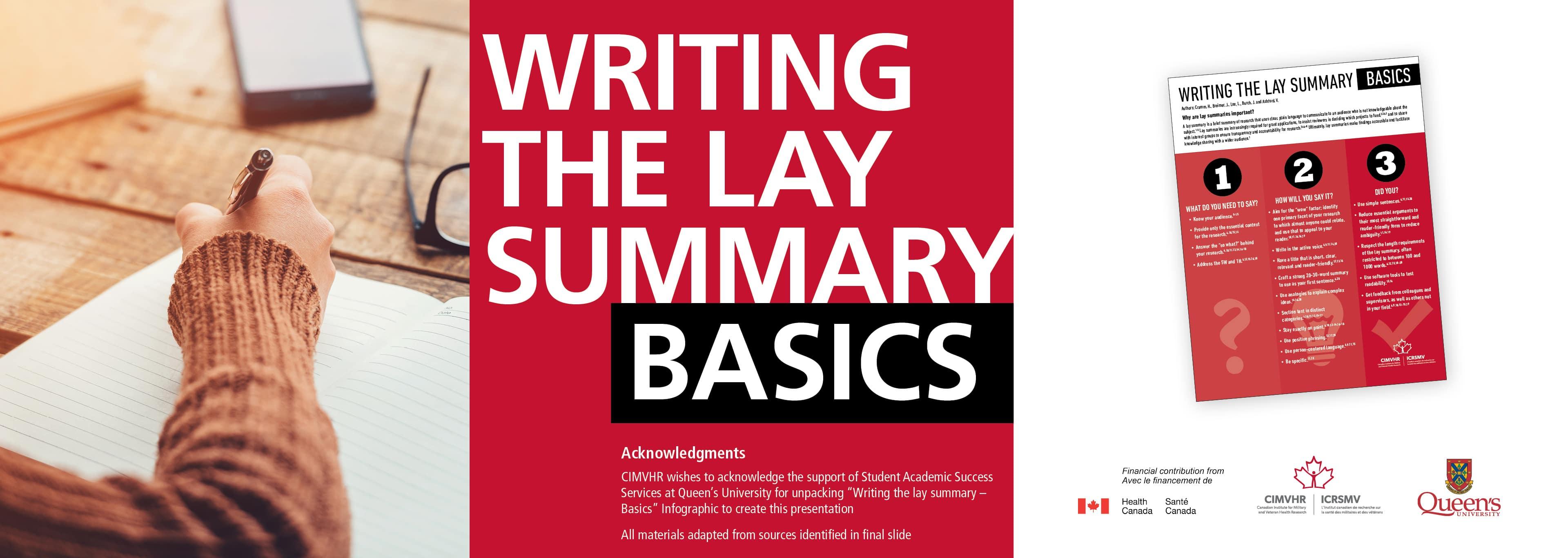 Lay Summary